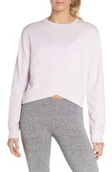 Zella Uplifted Sweatshirt Purple Moss
