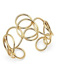 Bloomingdale's Polished Circle Link Cuff In 14K Yellow Gold 100 Exclusive