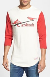 Men's Mitchell And Ness 'Mlb Batter Cardinals' Cotton Baseball T Shirt