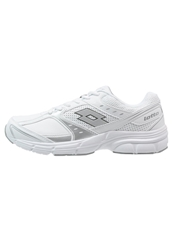 Lotto Antares Vi Cushioned Running Shoes White Metallic Silver