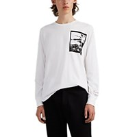 Ovadia And Sons Bruce Lee Cotton Long Sleeve T Shirt White