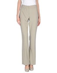D.Exterior Trousers Casual Trousers Women Grey