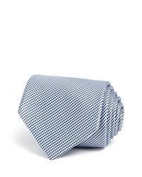 Theory Micro Grid Classic Tie Blue