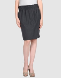 Piazza Sempione Knee Length Skirts Lead
