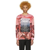 Hood By Air Pink Overcome T Shirt