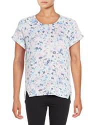 Roudelain Plus Knit Sleep Tee Space Dye