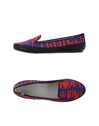Cp Charles Philip Shanghai Moccasins Red