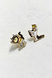 Out Of Print Where The Wild Things Are Pin Set Yellow