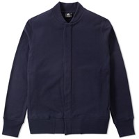 Paul Smith Jersey Bomber Jacket Blue