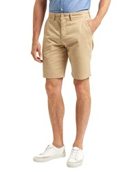 Lyle And Scott Cotton Shorts Stone