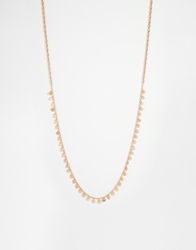 Designsix Deisgnsix Delicate Coin Necklace Gold