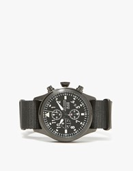Jack Mason Chronograph In Black Nylon