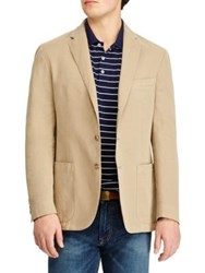 Polo Ralph Lauren Morgan Yale Regular Fit Cotton And Linen Sportcoat Tan