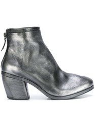 Marsell Zipped Ankle Boots Metallic
