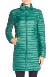 Patagonia 'Fiona' Water Repellent Parka Green