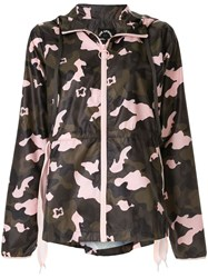 The Upside Camouflage Hooded Jacket Multicolour
