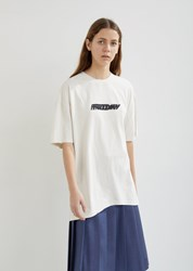 Vetements Weekday T Shirt Off White Friday