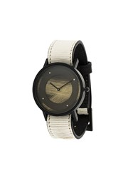 South Lane Avant Emerge Watch Calf Leather Stainless Steel White