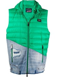 Paul And Shark Padded Deconstructed Gilet 60