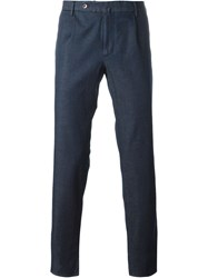 Incotex Casual Trousers Blue