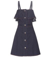 See By Chloe Denim Dress Blue