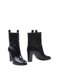 Ralph Lauren Collection Ankle Boots Black