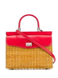 Rodo Medium Tote Bag Red