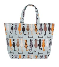 Harrods Small Curly Tails Shopper Bag Unisex