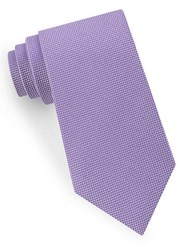 Lord And Taylor Textured Silk Tie Purple