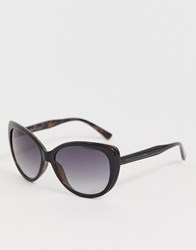 French Connection Cat Eye Sunglasses Brown