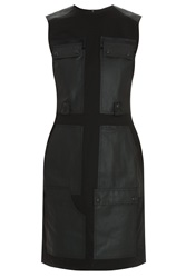 Alexander Wang Leather Panel Dress
