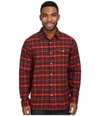 Mountain Hardwear Drummond Long Sleeve Shirt Redwood Men's Long Sleeve Button Up Mahogany