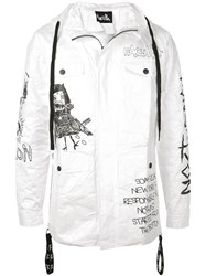 Haculla 'There's No Future For You' Jacket White