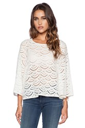 Baandsh Ross Top Ivory