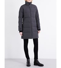 Canada Goose Heatherton Quilted Shell Coat Graphite