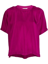 Forte Forte Relaxed Fit T Shirt Purple