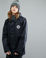 Dc Shoes Snow Cash Only Coach Jacket With Hood Black