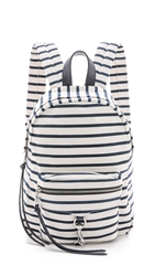 Rebecca Minkoff Mab Backpack Navy Stripe