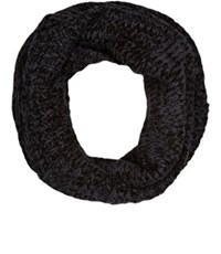 Barneys New York Women's Wool Blend Infinity Scarf Black