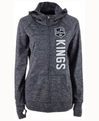 G3 Sports Women's Los Angeles Kings Recovery Hooded Sweatshirt Gray