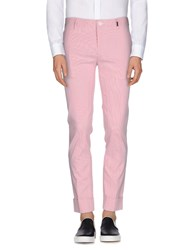 Bikkembergs Trousers Casual Trousers Men Coral