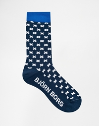 Bjorn Borg One Click Away Socks Blue