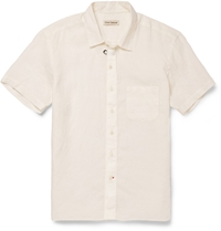 Oliver Spencer Linen Shirt White