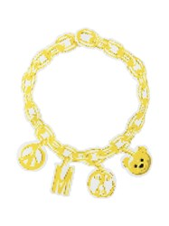 Moschino Chain Necklace Yellow