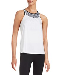 Calvin Klein Two Piece Sports Bra And Tank Top White