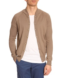 Menlook Label Hugo Taupe Cardigan