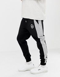 Hype Skinny Joggers With Side Panel Grey