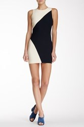 Elizabeth And James Klein Colorblock Mini Dress Blue