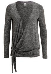 Roxy Wrappy Long Sleeved Top Grey
