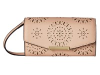 Ivanka Trump Mara Crossbody Wallet Nude Lasercut Cross Body Handbags Beige
